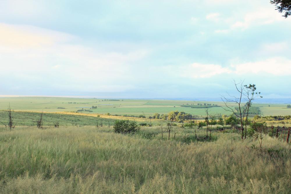 Farms en route to Ezemvelo Reserve.
