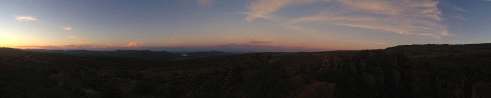 Northwest sunset – Magaliesberg