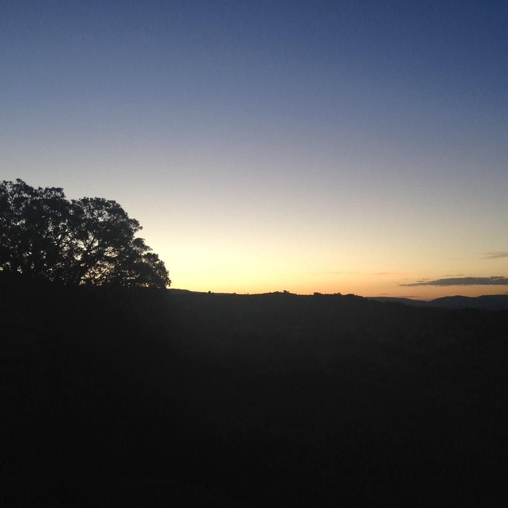 Northwest sunset – Magaliesberg.