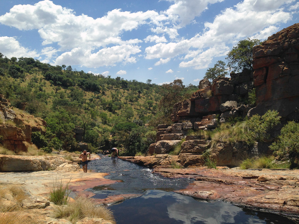 Dome Pools offer some of the best swimming spots in Magaliesberg.
