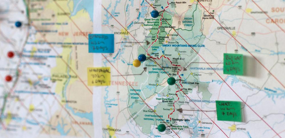 Our thirty day, 460 kilometre Appalachian adventure.