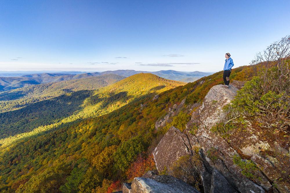 Shenandoah National Park, Virginia. Click to enlarge