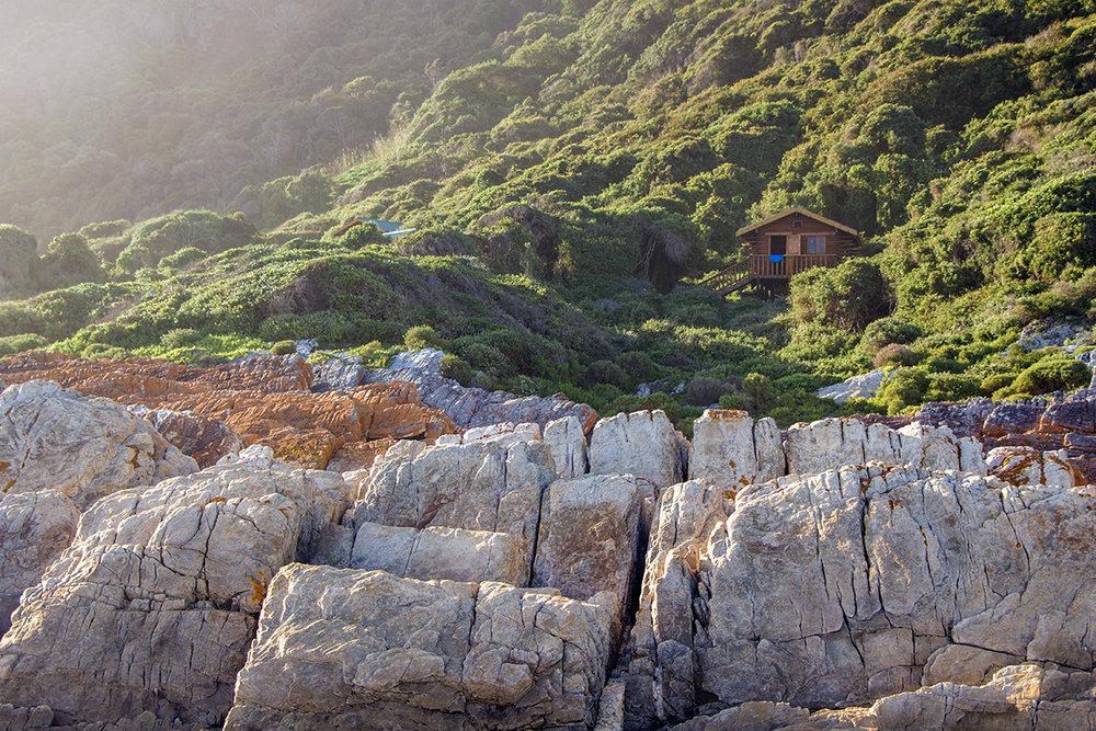 Ngubu Hut – Otter Trail Day 1.  Click to expand.