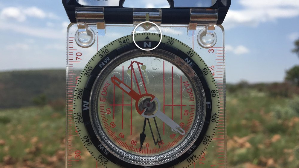 2. RESET YOUR COMPASS