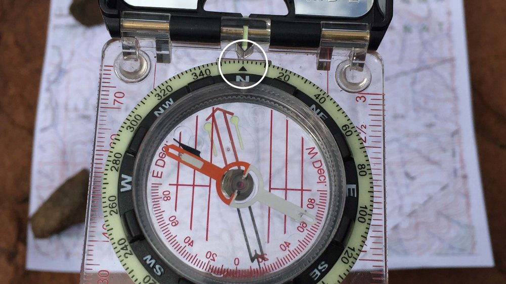 1. RESET YOUR COMPASS