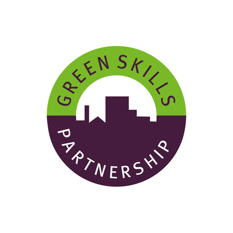 Green Skills Partnership   – brings together unions, employers, local councils, environmental organisations, education providers, community groups and state agencies to deliver green skills training in construction, retrofit, horticulture and waste management. Jointly they directly support the design and delivery of sustainability training and employment opportunities.