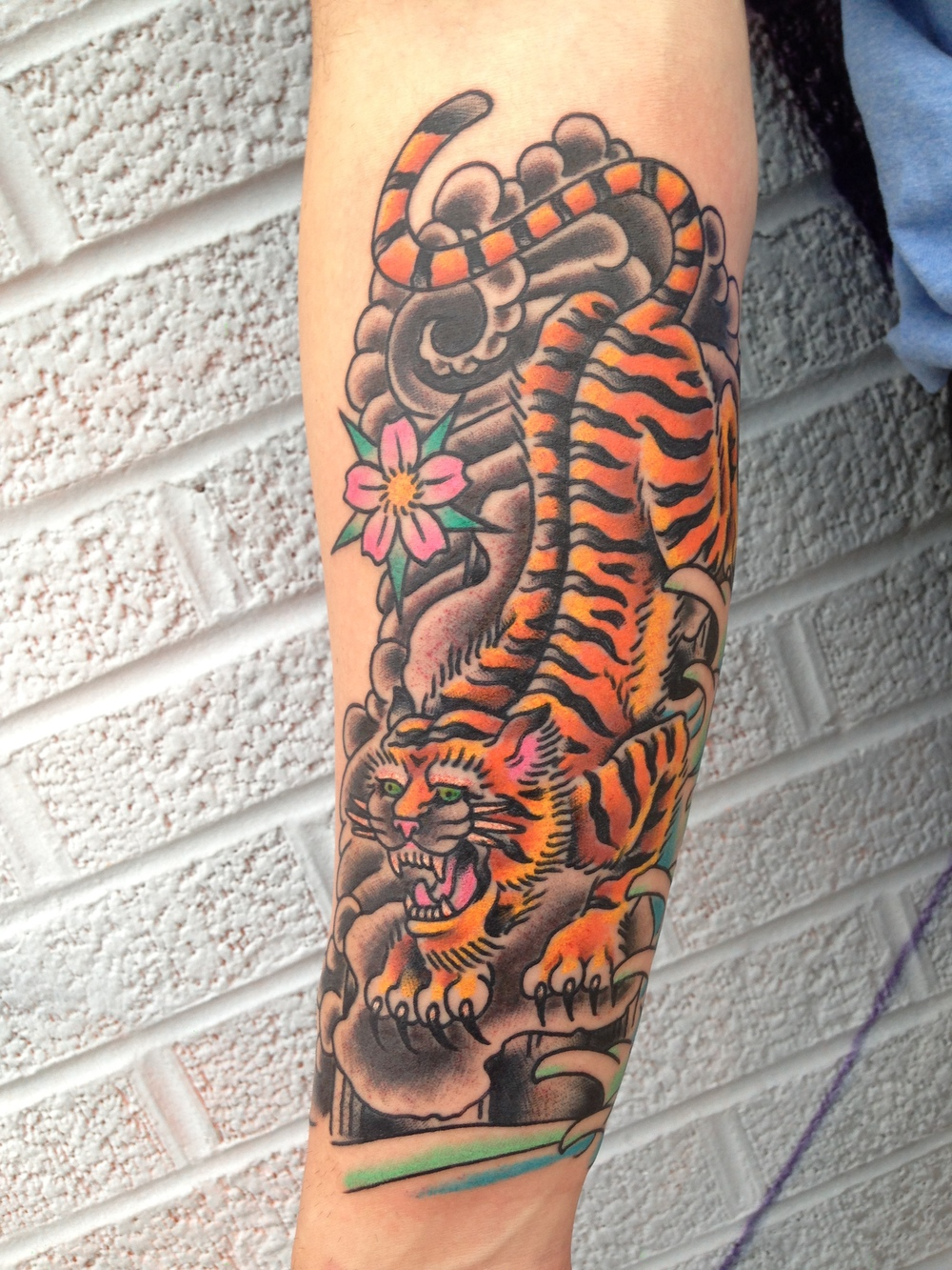 Kingpin Tattoo: Michael Williams