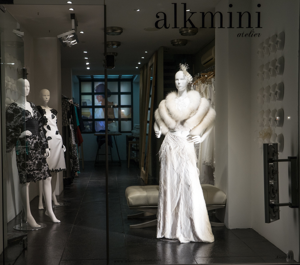 Alkmini atelier, haute couture creations, Thessaloniki, Greece