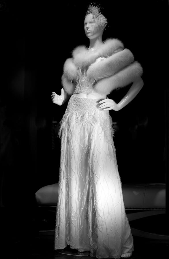 Wedding dress by Alkmini