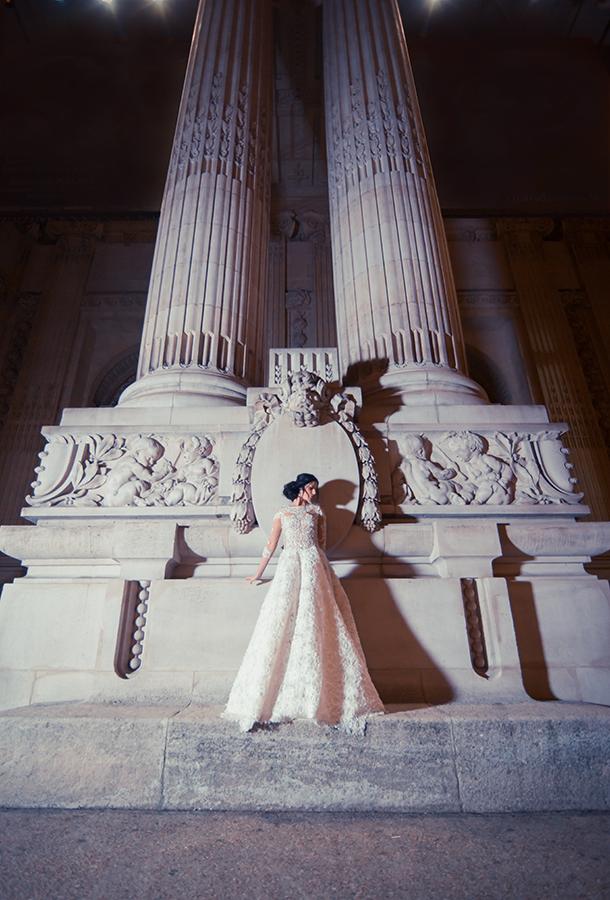 Bridal Alkmini, Grand Palais, Paris, France Νυφικό Αλκμήνη, Grand Palais, Παρίσι, Γαλλία