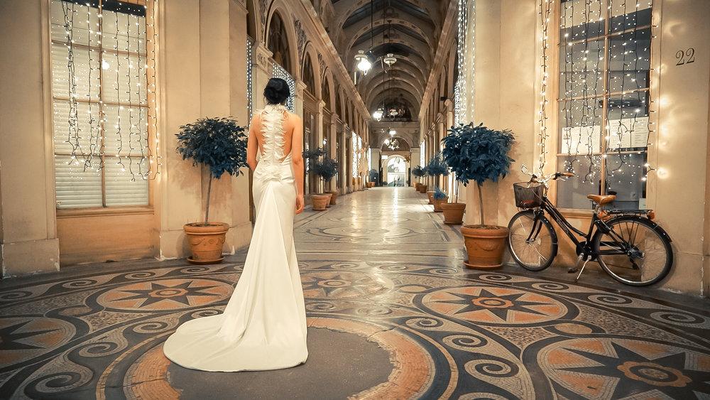 Νυφικό Alkmini (γαμήλιο editorial στο Παρίσι)