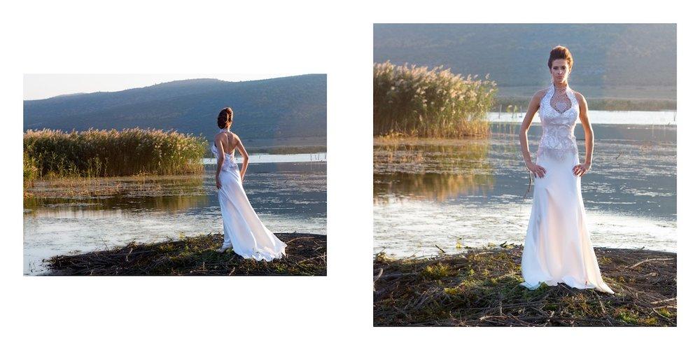 Bridal dress by Alkmini