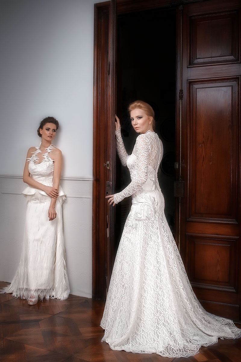 Νυφικά φορέματα ALKMINI - Wedding dresses by ALKMINI