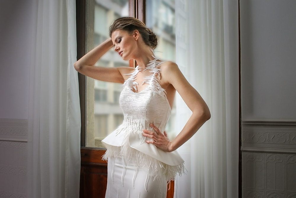 Νυφικό φόρεμα ALKMINI - Bridal Dress by ALKMINI