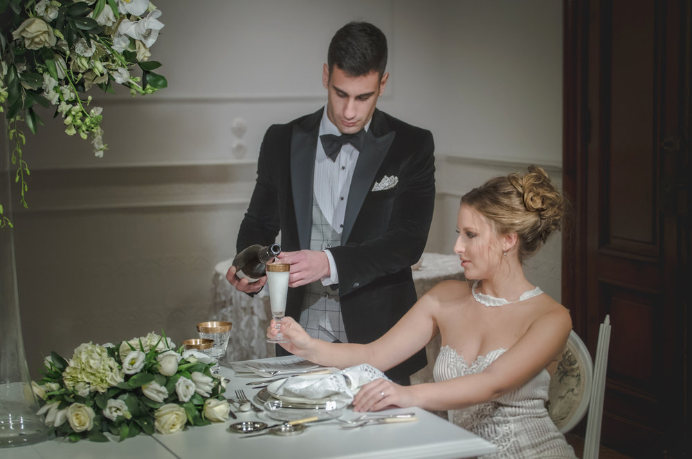 BRIDAL DINNER Styled PhotoShoot