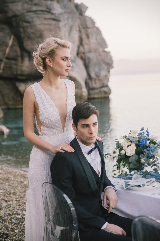 Bridal Dress ALKMINI, Photography Maria Mintsidou