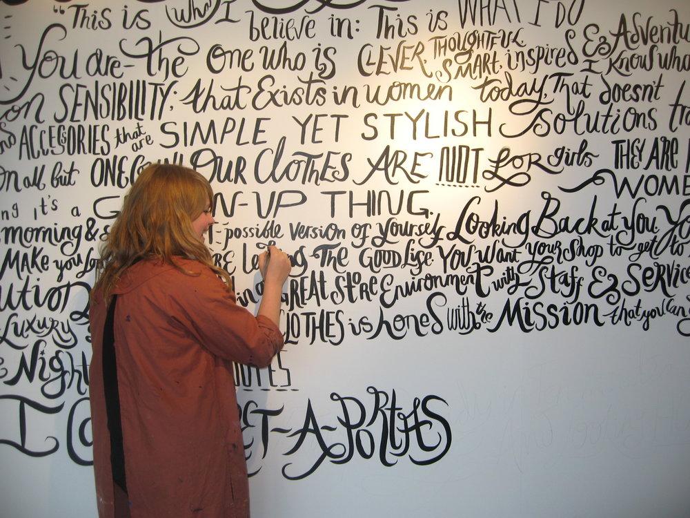 Annie Rickard Straus, Lettering artist, Illustrator and Scribe