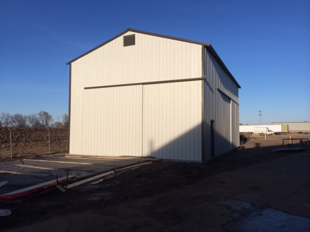 Powder Coating Blast Building