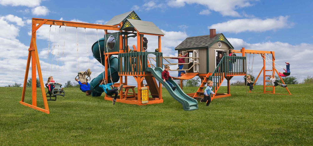 Swing Sets & Playhouses