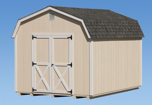 10'x12' Dutch Barn Style Shed