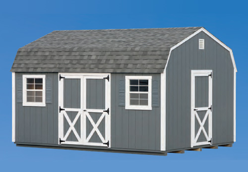12'x16' Dutch Barn Style Shed