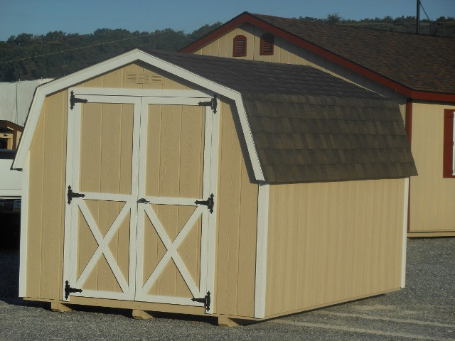 8'x12' Mini Dutch Barn Style Shed