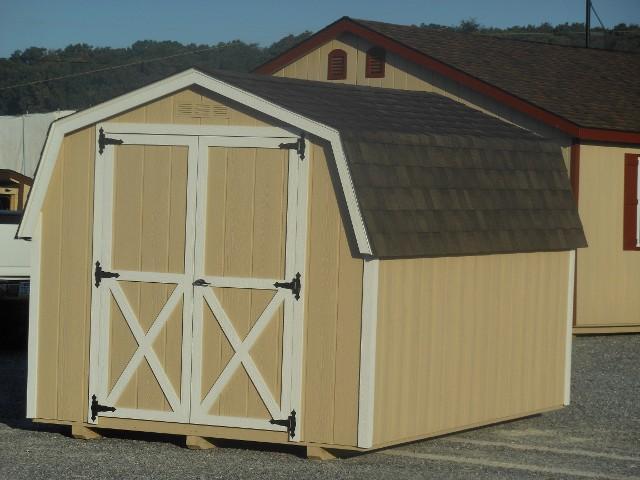 8'x12' Mini Barn
