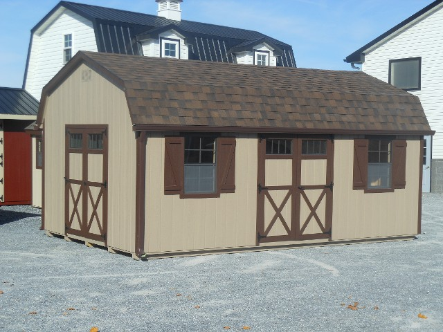 12'x24' Dutch Barn Style Shed