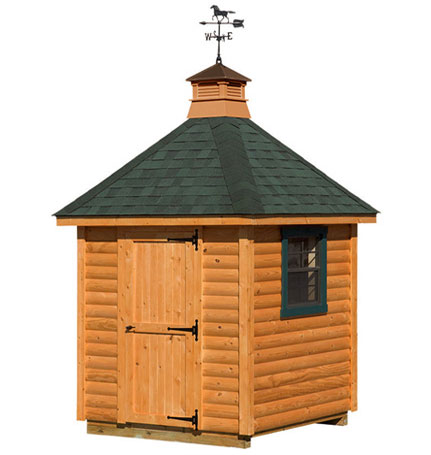 Hip Style Shed