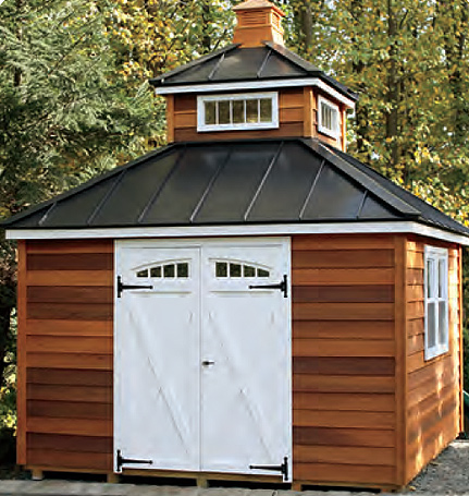 Tower Style Shed