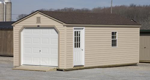 Man Cave Garage Rental : Rent to own storage sheds garages portable