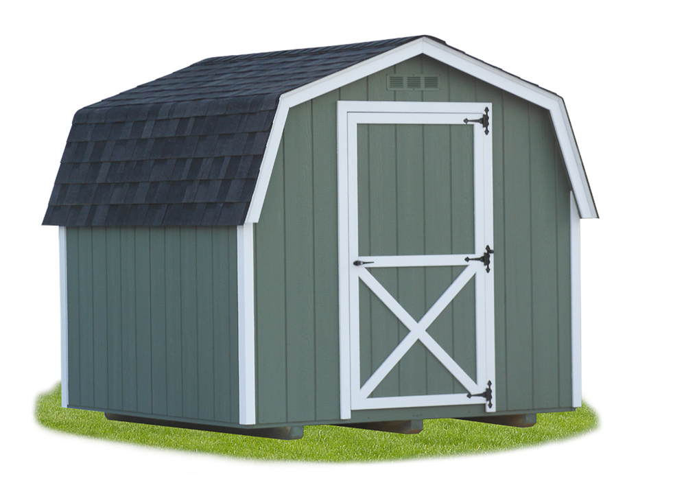 8'x8' Mini Dutch Barn Style Shed