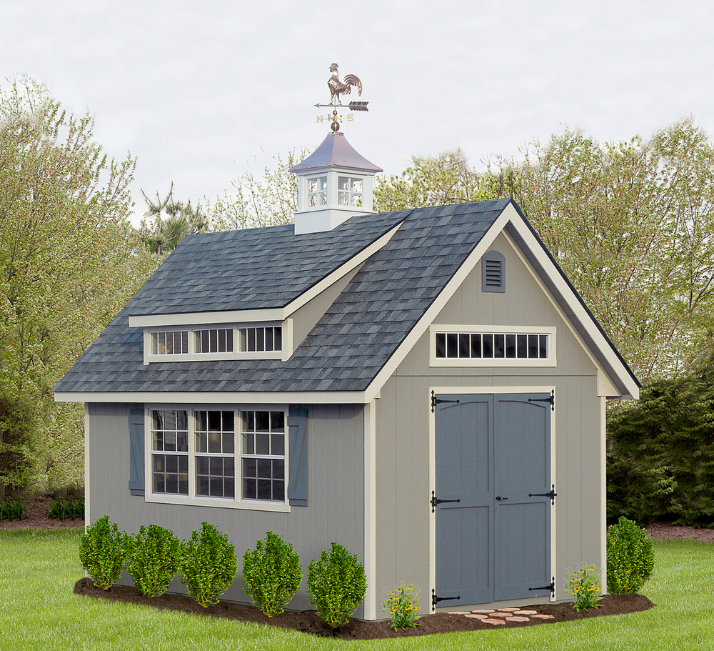Victorian Style Shed