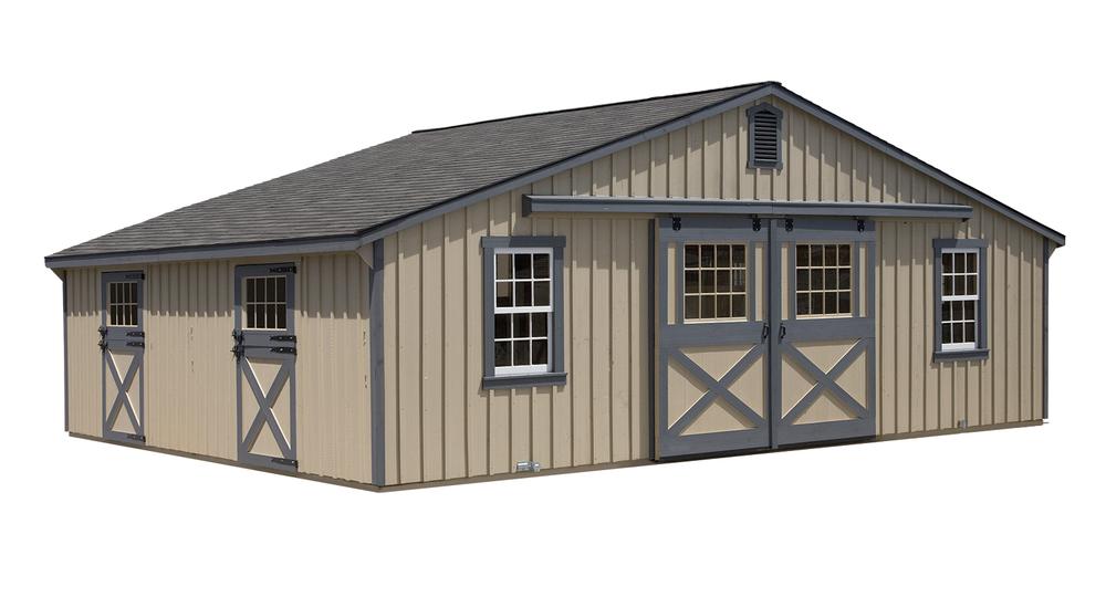 30x24 Economy Horse Barn