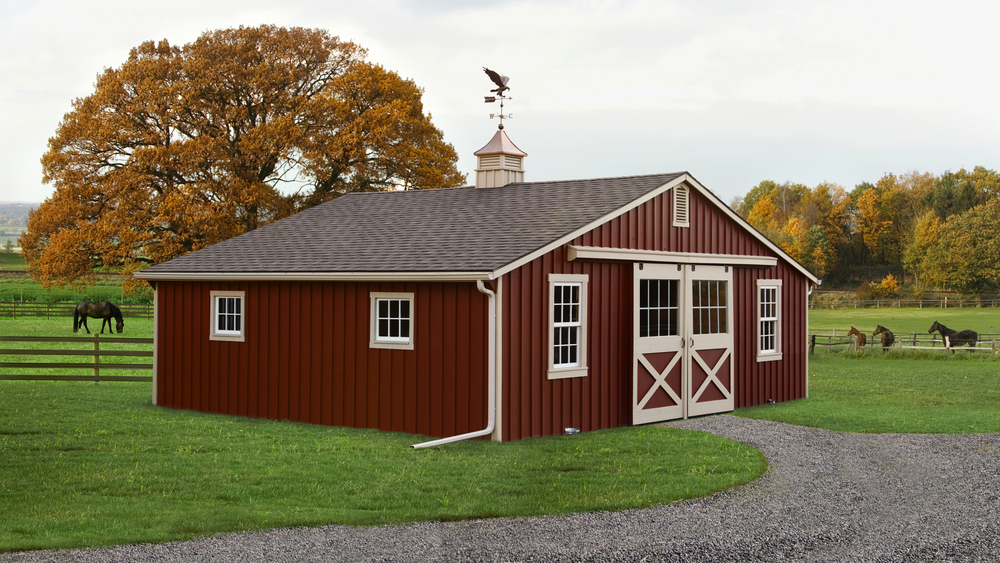 30x24 Low Profile Barn