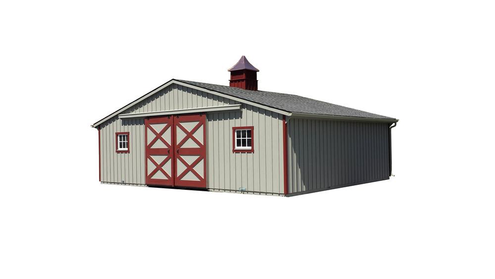 30x24 Trailside Horse Barn