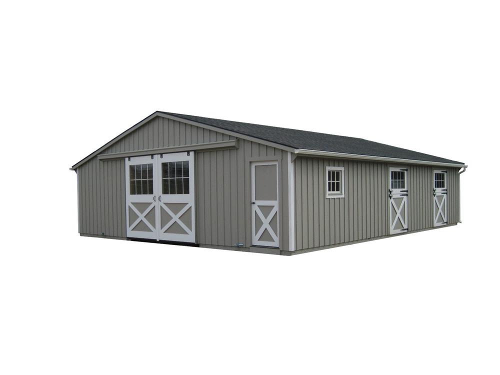 30x36 Trailside Horse Barn
