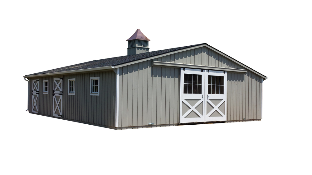 30x36 Trailside Horse Barn