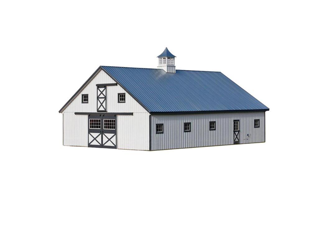 36x52 High Country Modular Horse Barn