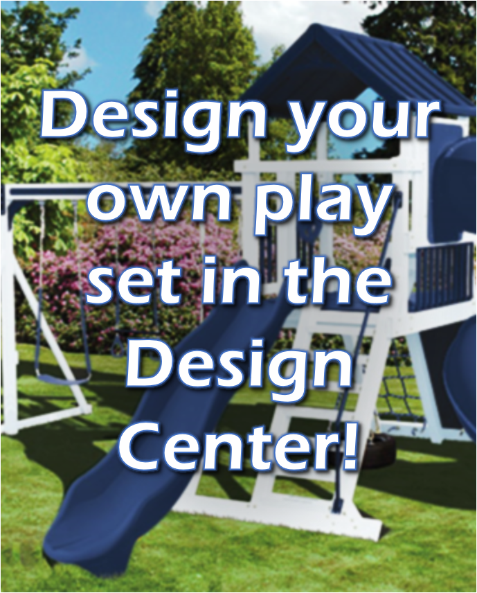 Click on to design your own swing set or play set!