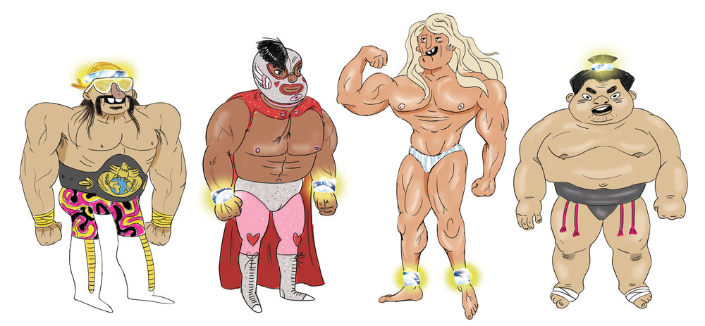 The beefcake forms