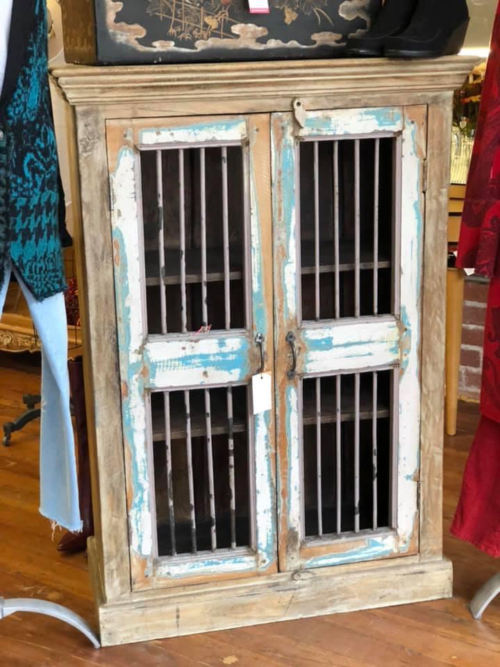 Rustic two door Cabinet $495