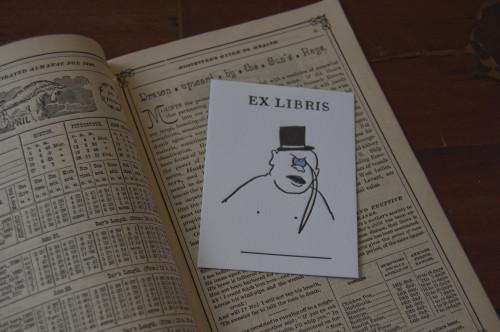 Matt Singer Ex Libris 2