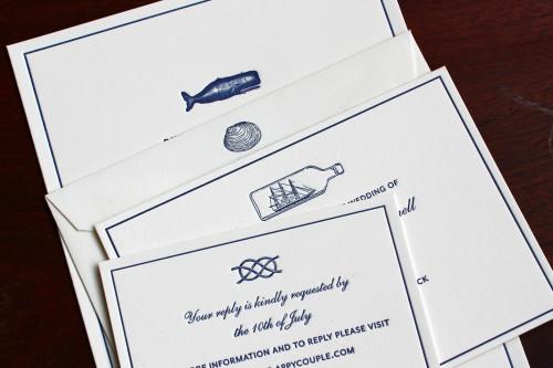nautical-maritime-ocean-whale-knot-shell-ship-letterpress-wedding-invitation