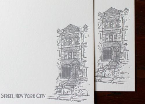 nyc-new-york-brownstone-illustration-letterpress-custom-stationery
