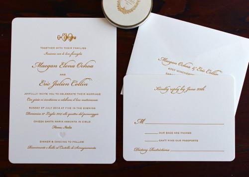 italian-gold-heart-locket-script-letterpress-wedding-invitation