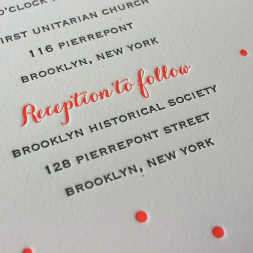 coral-carolyna-script-copperplate-dots-letterpress-wedding-invitation-brooklyn-ny