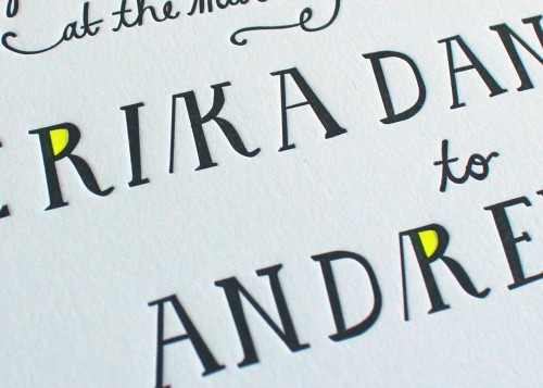 handlettering-green-black-letterpress-wedding-invitation-sesame-brookyn