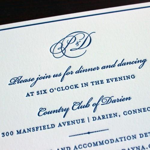 navy-blue-monogram-letterpress-wedding-invitation