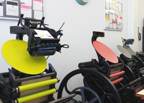 golding-letterpress-printing-red-green-ink